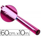 Papel celofane 60 cm x 10 mt. 30 grs/m2. rosa