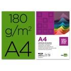 Cartolina liderpapel 180 grs 100 folhas. a4. verde abeto