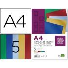 Cartolina liderpapel metalizada 50 folhas a4 cores sortidas