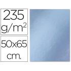 Cartolina liderpapel metalizada 50x65 cm. 235 grs. prata