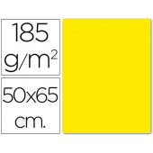 Cartolina 185 grs 50x65 cm. guarro. amarelo canario