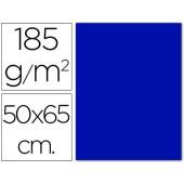 Cartolina 185 grs 50x65 cm. guarro. azul marinho