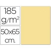 Cartolina 185 grs 50x65 cm. guarro. creme