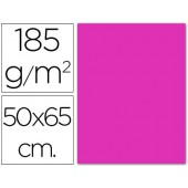 Cartolina 185 grs 50x65 cm. guarro. fucsia