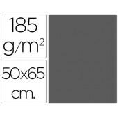 Cartolina 185 grs 50x65 cm. guarro. cinza escuro