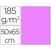 Cartolina 185 grs 50x65 cm. guarro. lilas