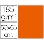 Cartolina 185 grs 50x65 cm. guarro.tangerina