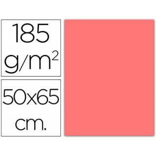 Cartolina 185 grs 50x65 cm. guarro. rosa