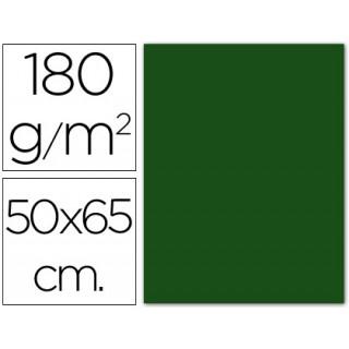 Cartolina 185 grs 50x65 cm. guarro. verde abeto