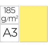 Cartolina guarro din a3 amarelo 185 gr embalagem de 50 folhas