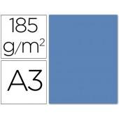 Cartolina guarro din a3 azul maldivas 185 gr embalagem de 50 folhas