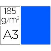Cartolina guarro din a3 azul mar 185 gr embalagem de 50 folhas