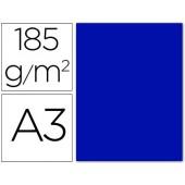 Cartolina guarro din a3 azul ultramar 185 gr embalagem de 50 folhas