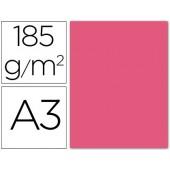 Cartolina guarro din a3 fucsia fluorescente 185 gr embalagem de 50 folhas