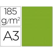 Cartolina guarro din a3 verde amazonas 185 gr embalagem de 50 folhas