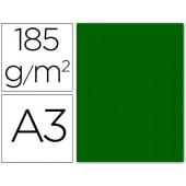 Cartolina guarro din a3 verde bilhar 185 gr embalagem de 50 folhas