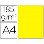 Cartolina guarro din a4 amarelo canario 185 gr embalagem de 50 folhas