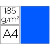 Cartolina guarro din a4 azul mar 185 gr embalagem de 50 folhas