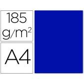 Cartolina guarro din a4 azul ultramar 185 gr embalagem de 50 folhas