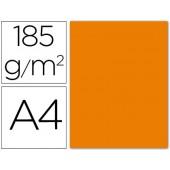 Cartolina guarro din a4 laranja 185 gr embalagem de 50 folhas