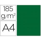 Cartolina guarro din a4 verde escuro 185 gr embalagem de 50 folhas