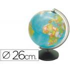 Globo sem luz coral com 26 cm diametro