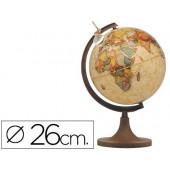 Globo com luz marco polo com 26 cm diametro