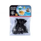 Baloes piratas bolsa de 8 unidades