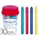 Picos de plastico para picotar- 10 cm