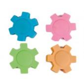 Borracha liderpapel com forma de roda cores sortidas