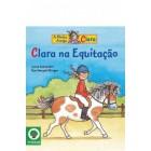 Clara na equitação