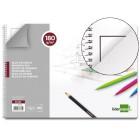 Bloco desenho liderpapel lineal espiral 230x325mm 20 folhas 180 g/m2 com esquadria