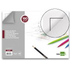 Bloco desenho liderpapel lineal colado 230x325mm 20 folhas 180 g/m2 com esquadria