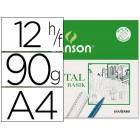 Papel vegetal 90 a4. 90-95 grs/m2