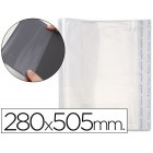 Bolsas protectoras para encadernacao adesivas em polipropileno cor transparente medidas 280x505mm