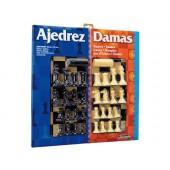 Xadrez com damas tabuleiro grande 41x40x4.6