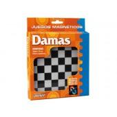 Jogos de mesa damas magnetico 20x16.1x2.4