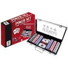 Jogo de mesa mala aluminio poker 300 fichas