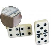 Domino marfil -caixa plastico