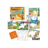 Jogo diset didatico tangram kids