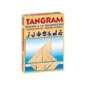 Jogo de mesa falomir tangram de madeira