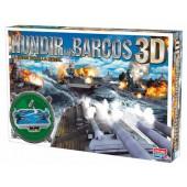Jogo de mesa falomir batalha naval 3d
