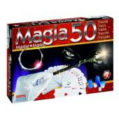 Jogo de mesa falomir caixa magia 50 truques