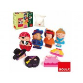 Puzzle goula infantil personajes magneticos