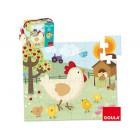 Puzzle diset galinha 24 pecas
