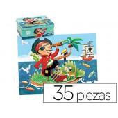 Puzzle goula intantil pirata 35 peças