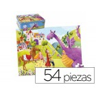 Puzzle goula infantil principe y dragon 54 peças