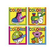Caderno para colorir cores