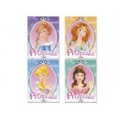 Caderno para colorir princesas glitter cor