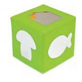Cubo de espelhos com figuras - 3109
